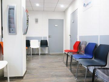 Salle d'attente gynécologie Montpellier